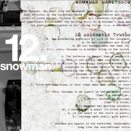 snowman manifesto.