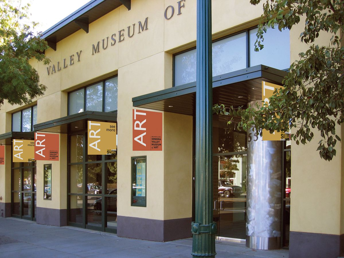 Sonoma Valley Museum Of Art Sonoma California With Images