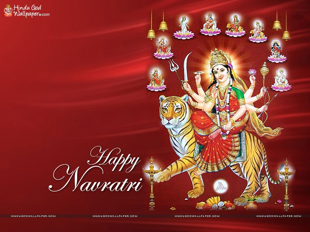 Hindu Festival Happy Navratri Hd Wallpapers Download Happy Navratri Navratri Wishes Navratri Images