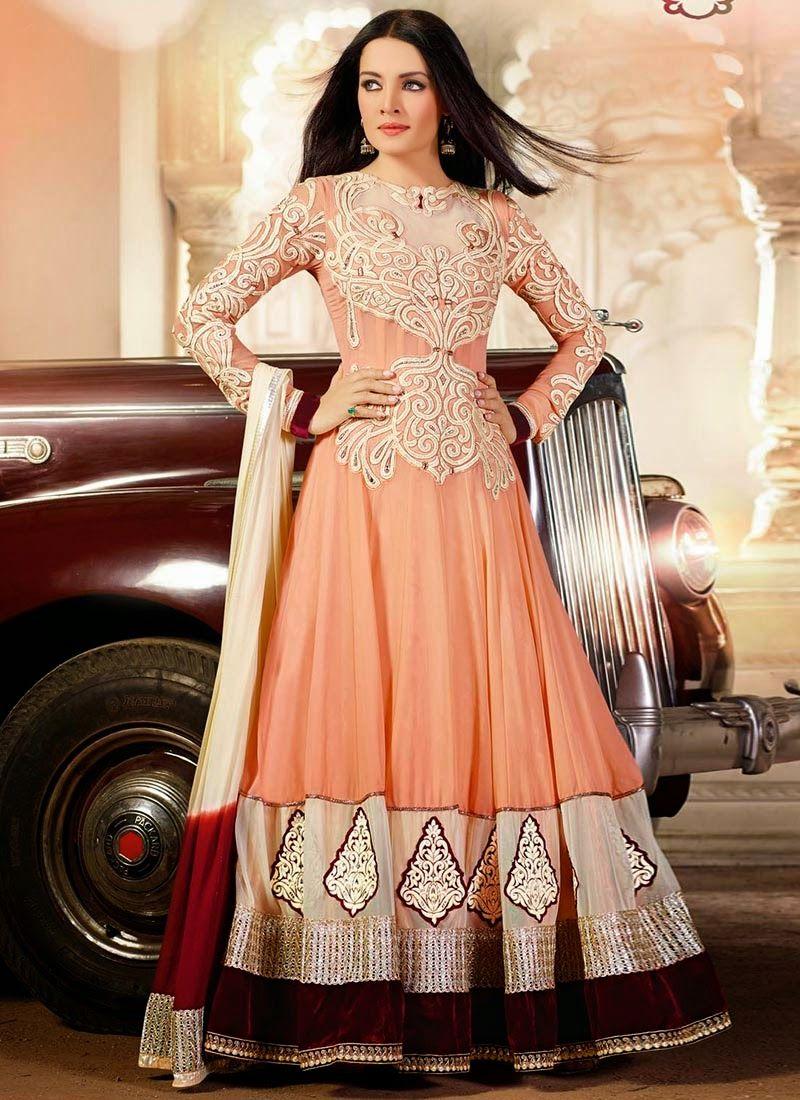 f5088f09a65 Latest Fashionable,Embrodiery, Designer,bollyhood Replica Anarkali ...