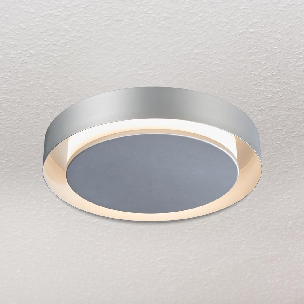 Vonn Lighting Talitha Collection 16 In Silver Nickel Led Modern Halo Ceiling Fixture Ceiling Fixtures Ceiling Light Fixtures Interior Lighting