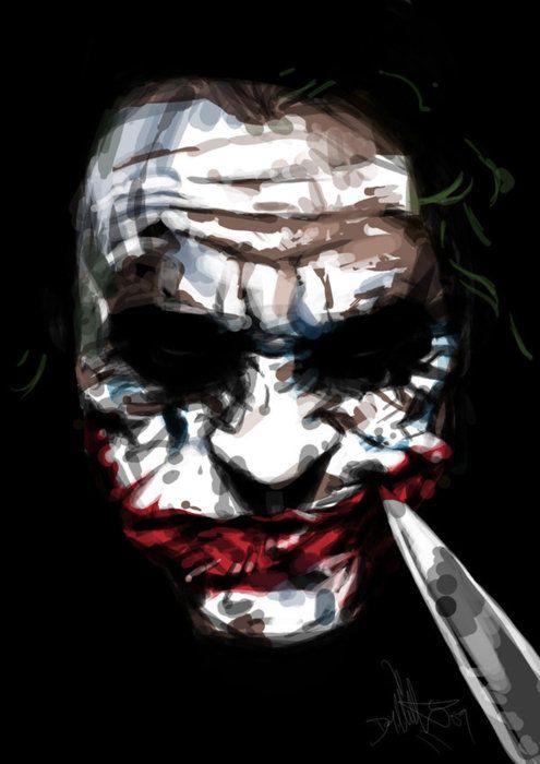 The Joker Arte Do Palhaco Animacoes Marvel Melhores Viloes