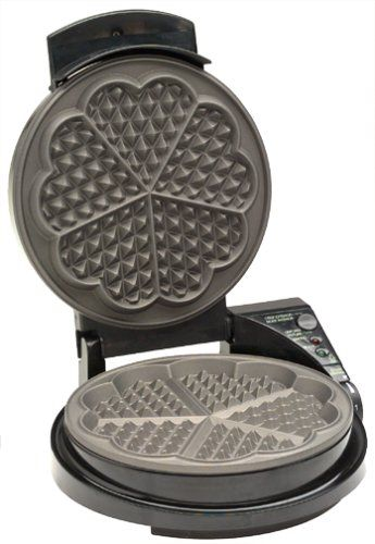 Scandinavian Baking Essentials Waffle Iron Heart Shaped Waffle Maker Waffles