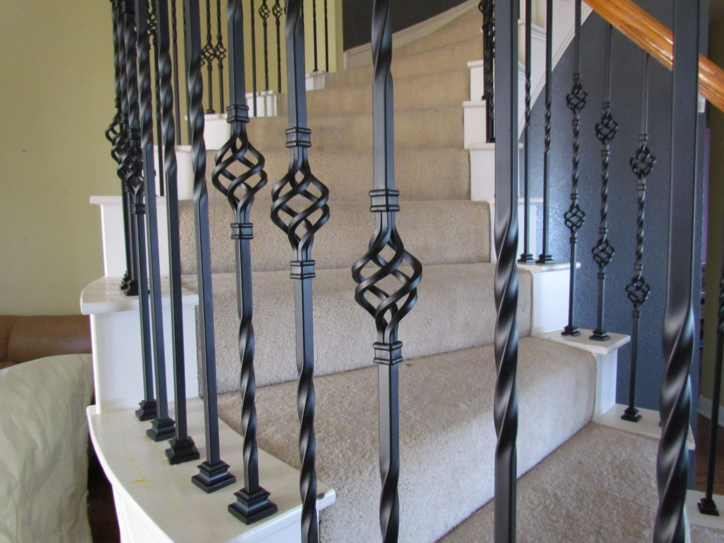 Iron Stair Railing Baluster Store Www Balusterstore Com Shop