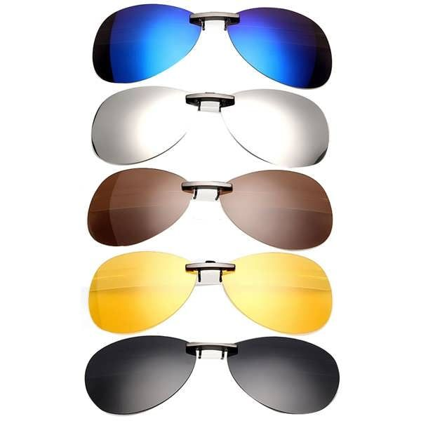 80a12dc2e04 Polarized Clip On Sunglasses Sun Glasses Driving Night Vision Lens  Worldwide delivery. Original best quality product for 70% of it s real  price.