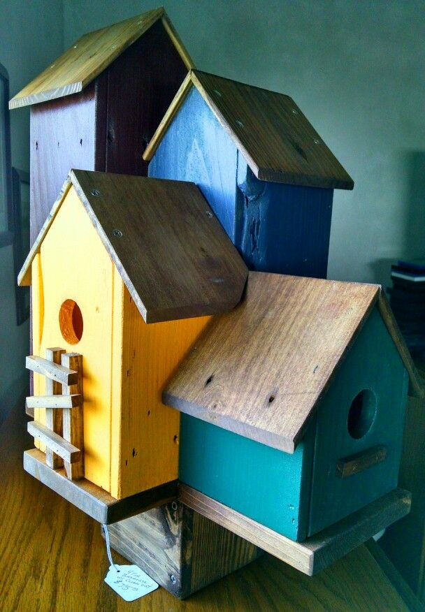 4 Tier Birdhouse Kivid Designs Birdhouse S Bird Houses