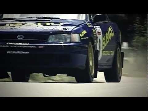 Colin McRae & Subaru Legacy RS - with pure engine sounds (Tour de Corse 1993)