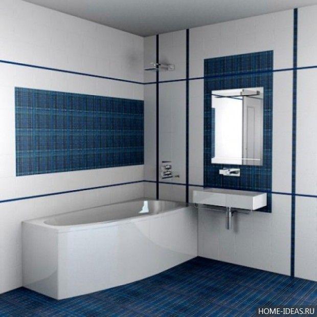 Дизайн плитки для ванной комнаты: фото | Baie