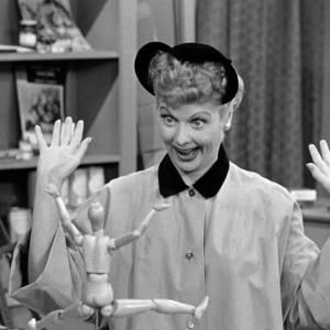 Still of Lucille Ball in I Love Lucy (1951) #lucilleball