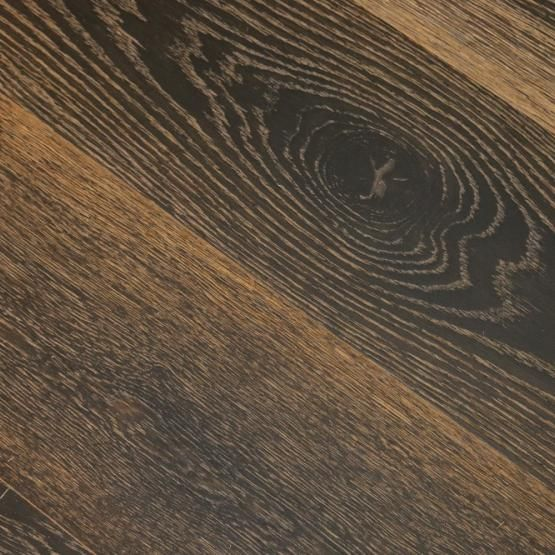 White Oak Black Tan 9 16 X 7 1 2 Wire Brushed Engineered Hardwood Flooring Engineered Hardwood Flooring Wire Brushes White Oak