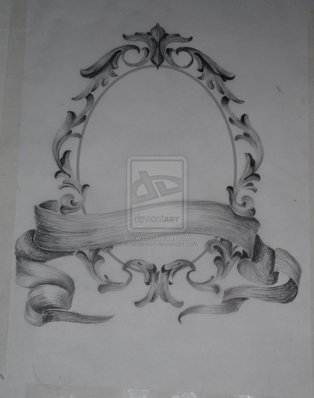filigree frame request by on deviantart tattoo pinterest. Black Bedroom Furniture Sets. Home Design Ideas