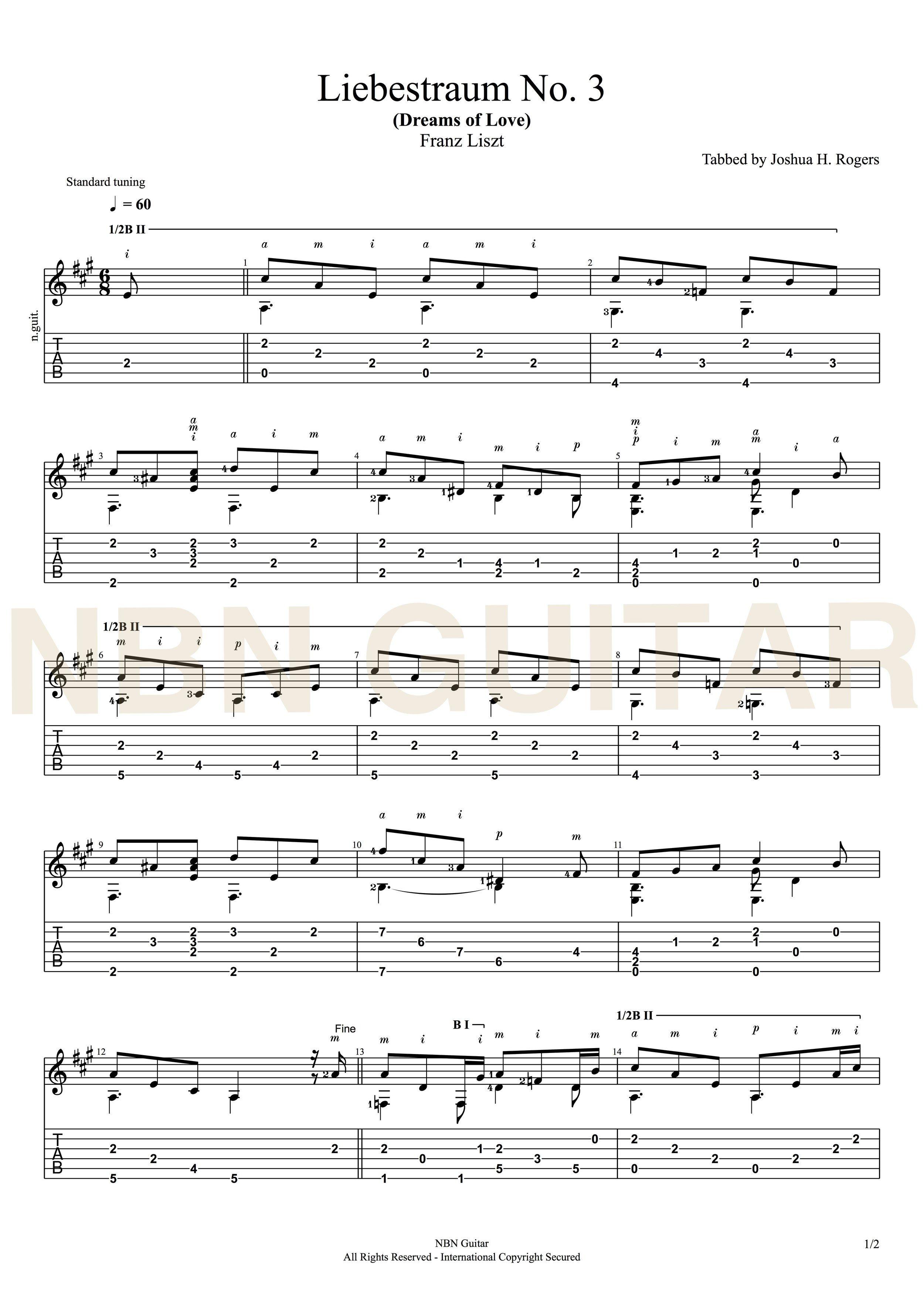 Liebestraum no 3 franz liszt sheet music tabs strings liebestraum no 3 franz liszt sheet music tabs hexwebz Image collections