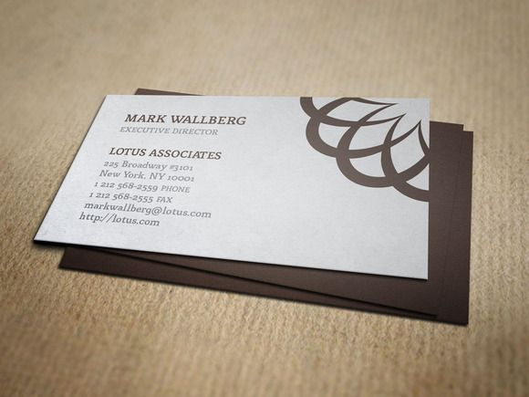 Vintage Law Firm Business Card | Creative, Business card templates ...