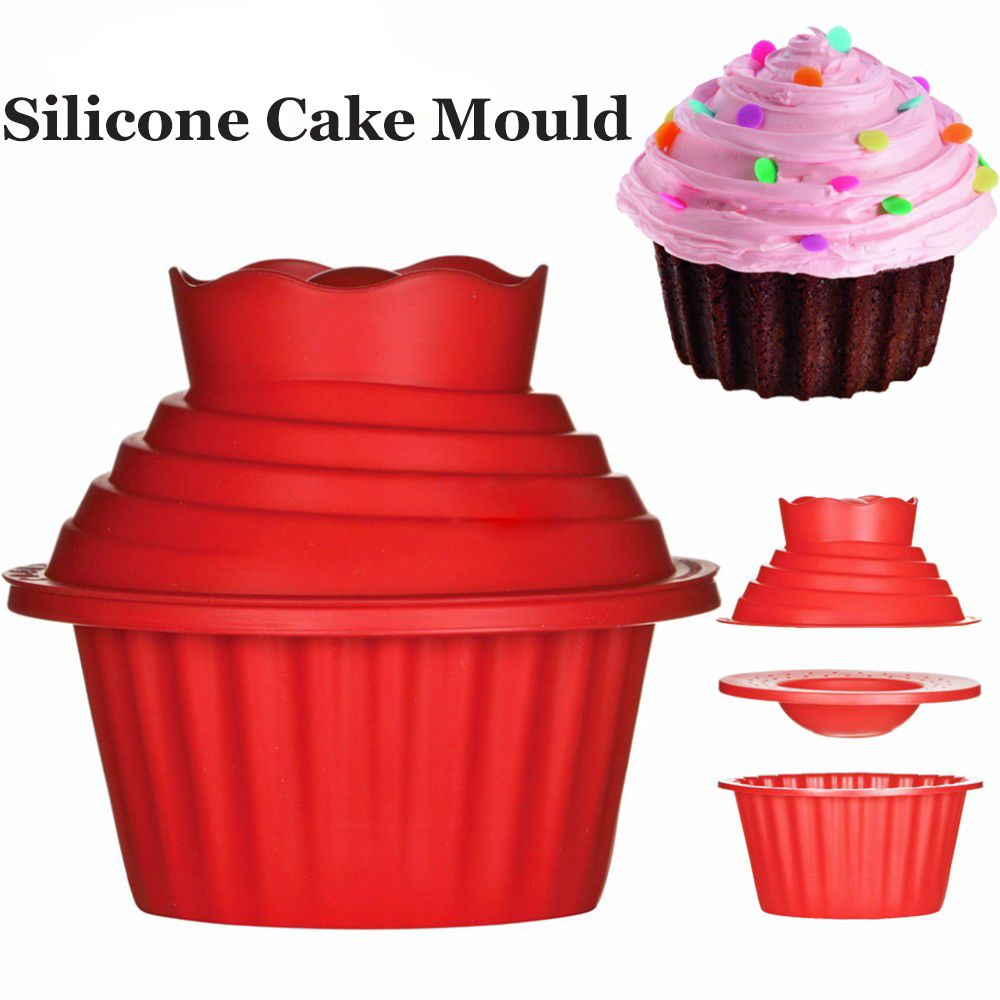 Cheap Giant Cupcake Buy Quality Giant Cupcake Mold Directly From China Silicone Mould Suppliers 3pcs Set D Giant Cupcake Mould Big Top Cupcake Giant Cupcakes