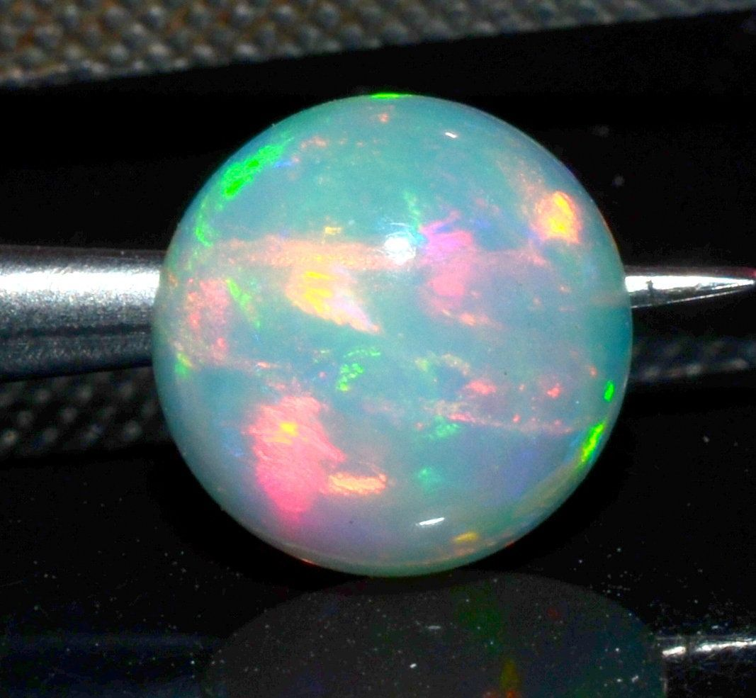 125 Ctw Natural Ethiopian Opal Cabochon Opal 8x8 mm Welo Fire Round Shape AAA Quality Opal Loose Gemstone jewelry making Opal Gift Stone 125 Ctw Natural Ethiopian Opal Ca...
