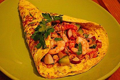 Omelette mit Krabbensalat, ein beliebtes Rezept aus der Kategorie Snacks und kleine Gerichte. Bewertungen: 7. Durchschnitt: Ø 4,4.
