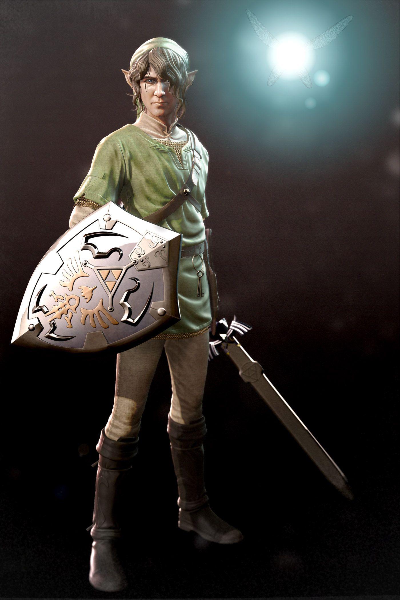 Realistic Link Design By Kyle Hefley 343 Developer Link Zelda Zelda Art Legend Of Zelda