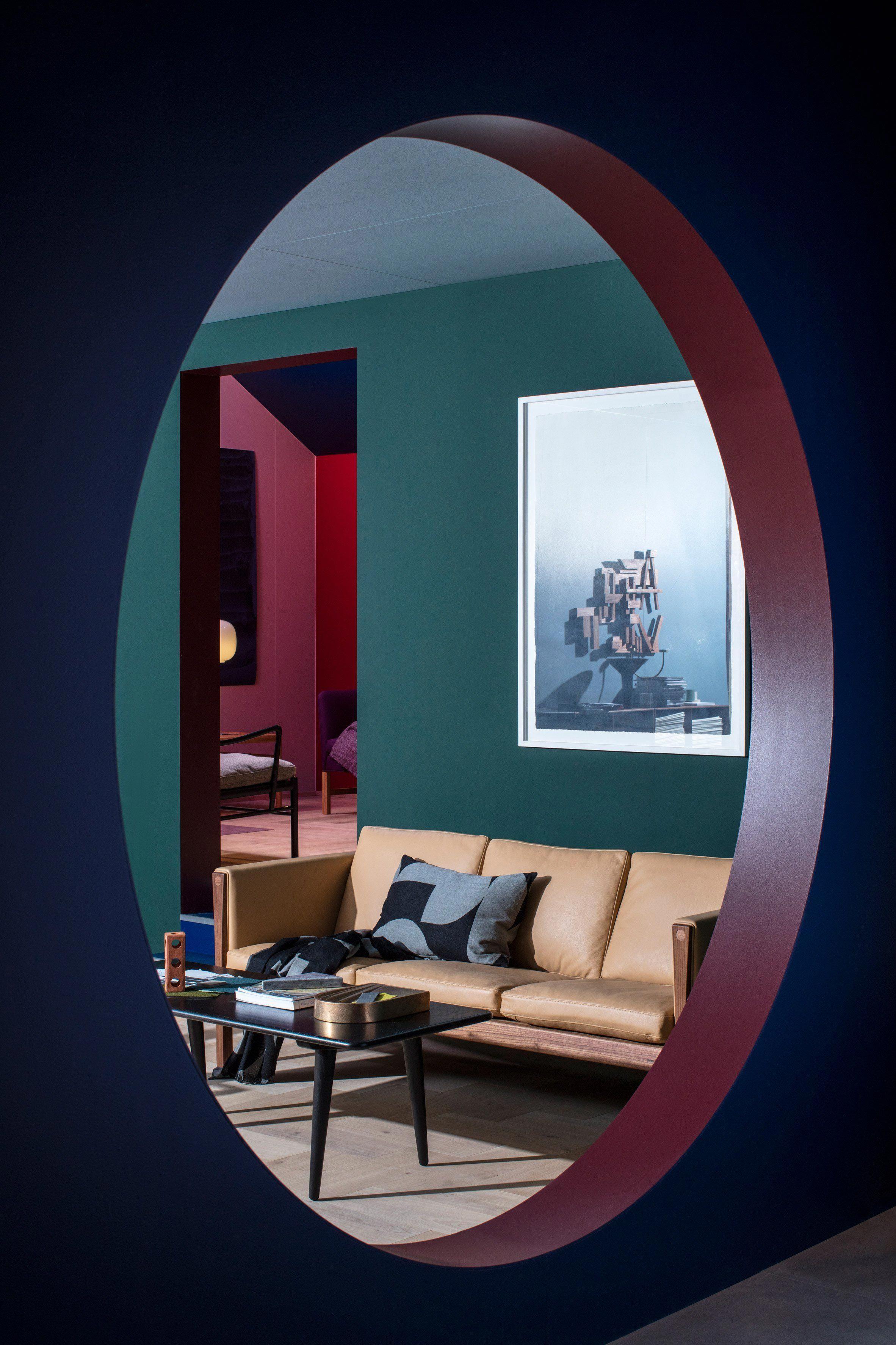 Carl Hansen Son Mock Apartment At Salone Del Mobile
