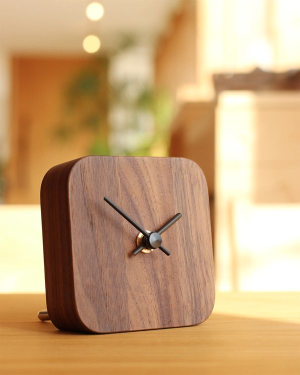 """[SALE]""""BLOCK Desk Clock"""" A simple and fashionable wooden clock that can be used both on the wall and on the table Hacoa brand-North …"""