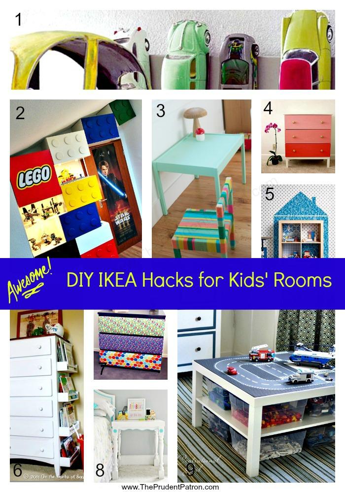 awesome diy ikea hacks for kids 39 rooms the prudent patron gebautes kinderzimmer kinder. Black Bedroom Furniture Sets. Home Design Ideas