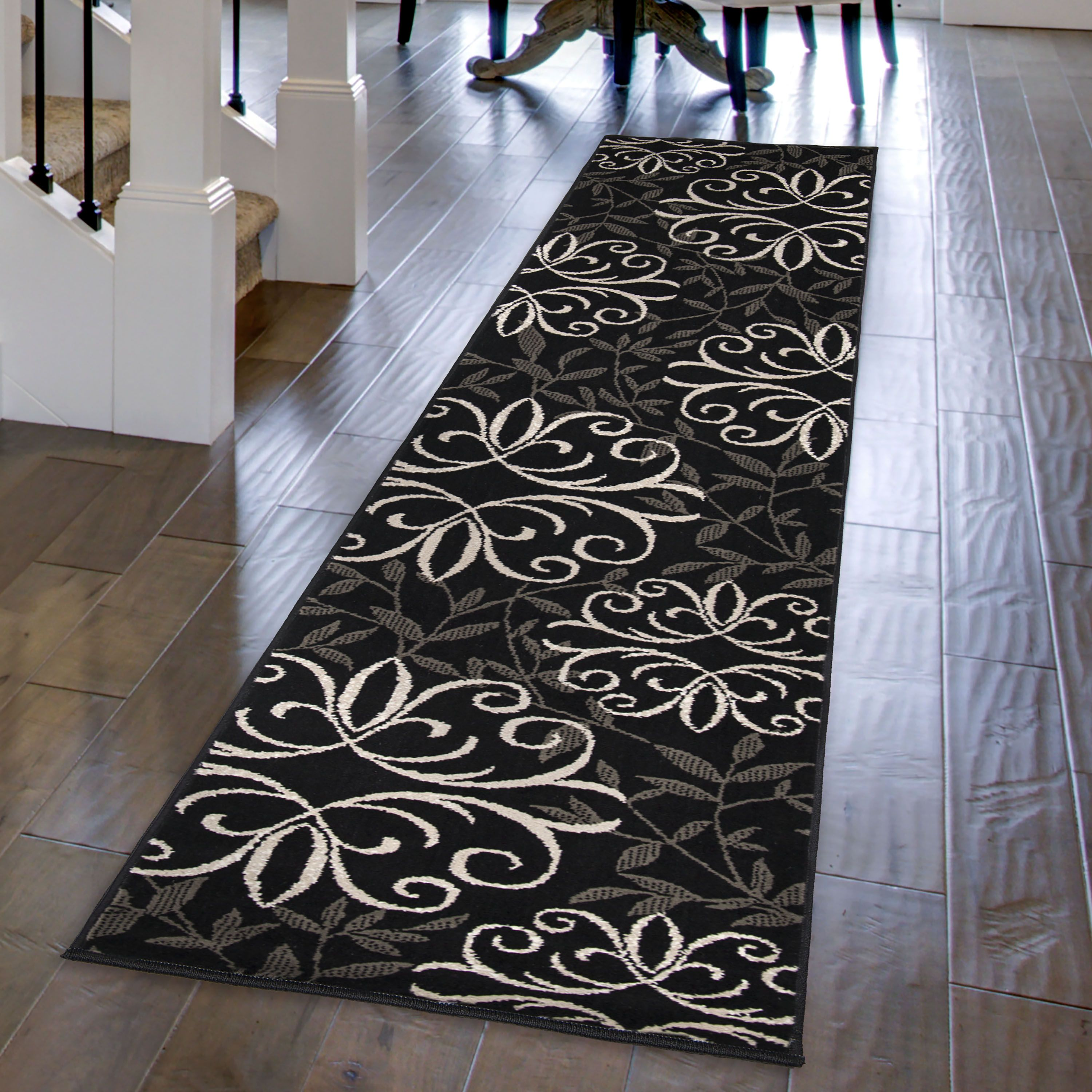 Better Homes And Gardens Iron Fleur Area Rug Or Runner Walmart