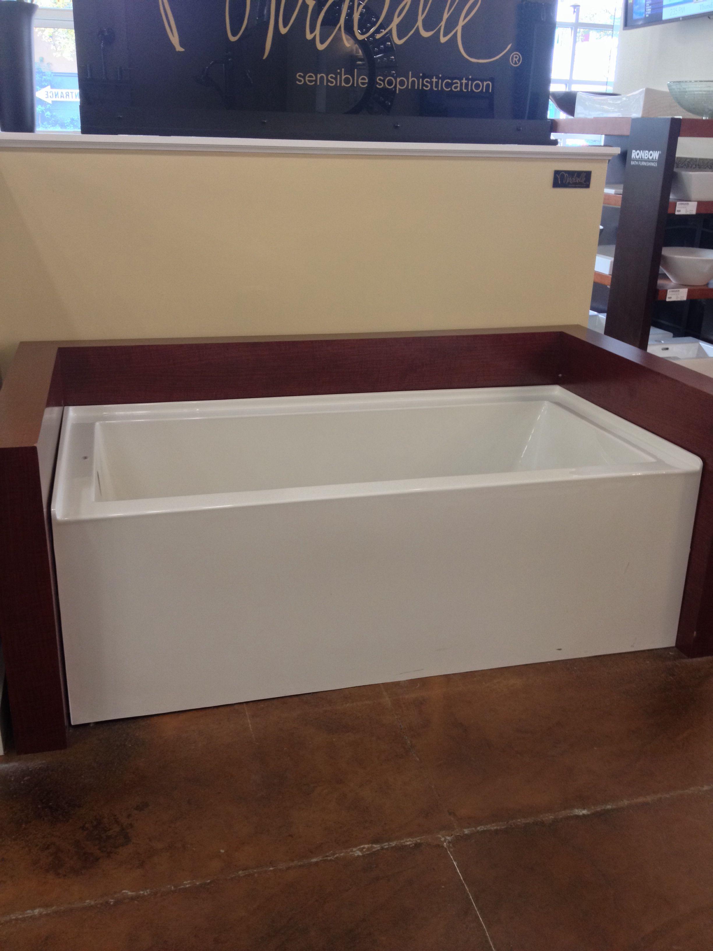 mirabelle edenton tub at ferguson showroom