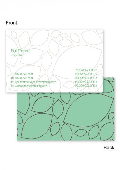 Mosaic leaf business cards free business card templates from www mosaic leaf business cards free business card templates from printrepublic cheaphphosting Image collections