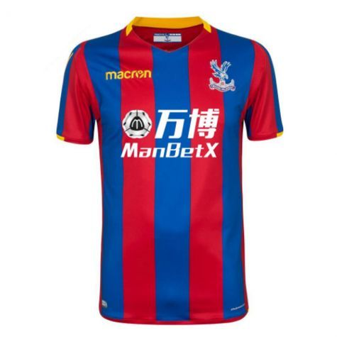 2acfc2c25 Crystal Palace 2017/18 Home cheap Soccer Jersey Shirt football kit  freeshipping