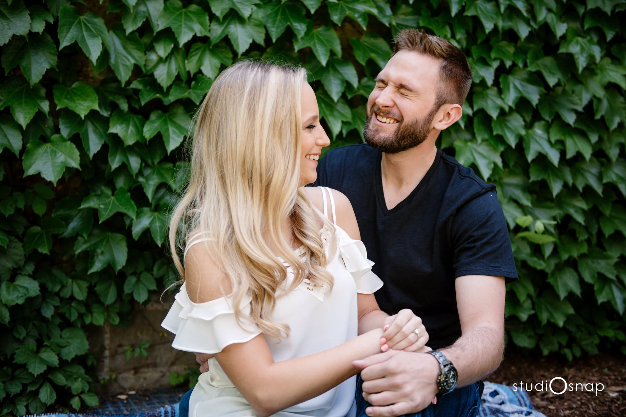 Madison Jake Engagement Session Edsel Eleanor Ford House