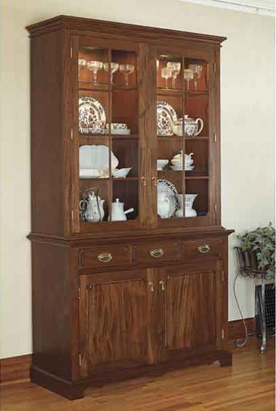 Heirloom China Cabinet Cabinet Woodworking Plans