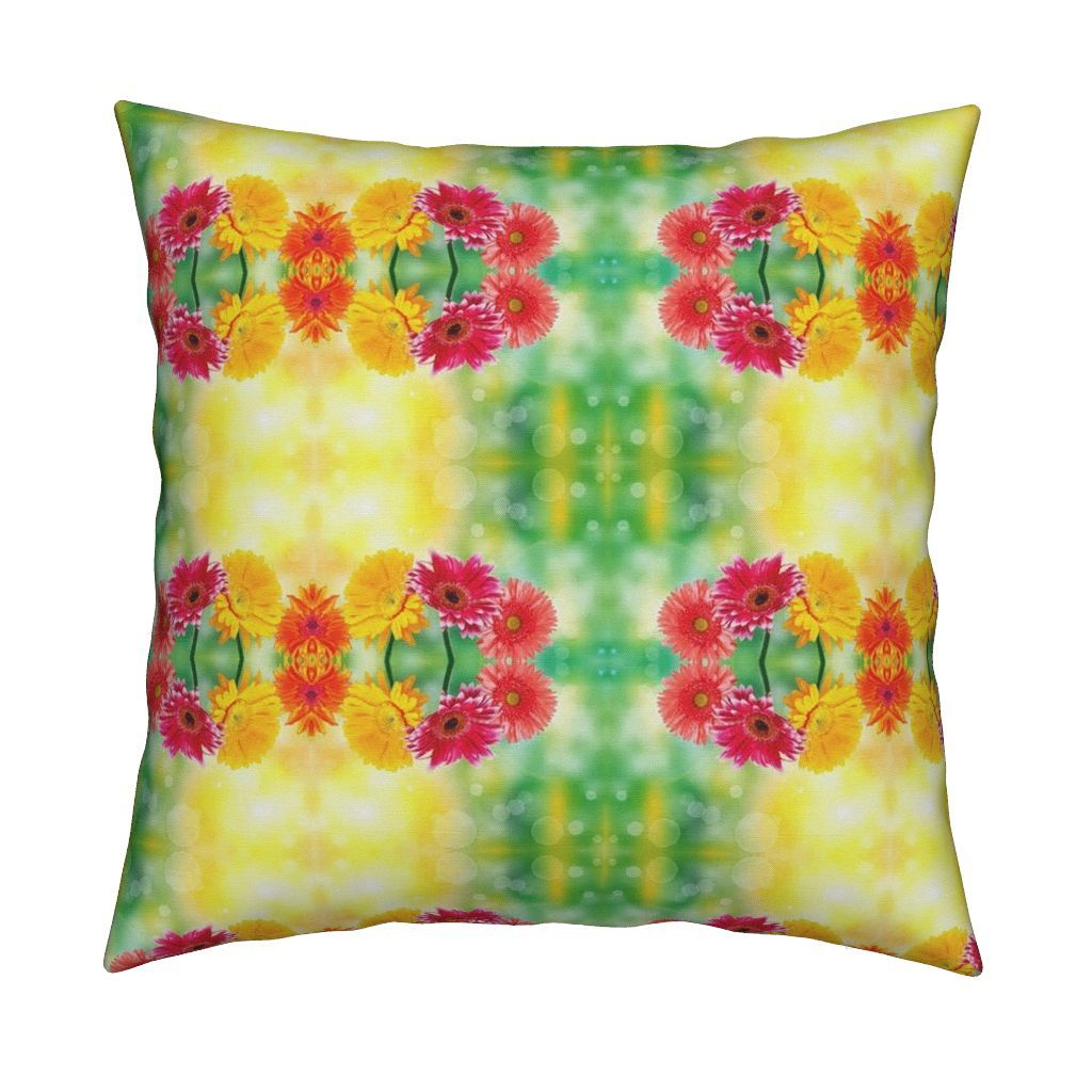 Catalan Throw Pillow featuring Springing into Spring by floramoon_designs | Roostery Home Decor