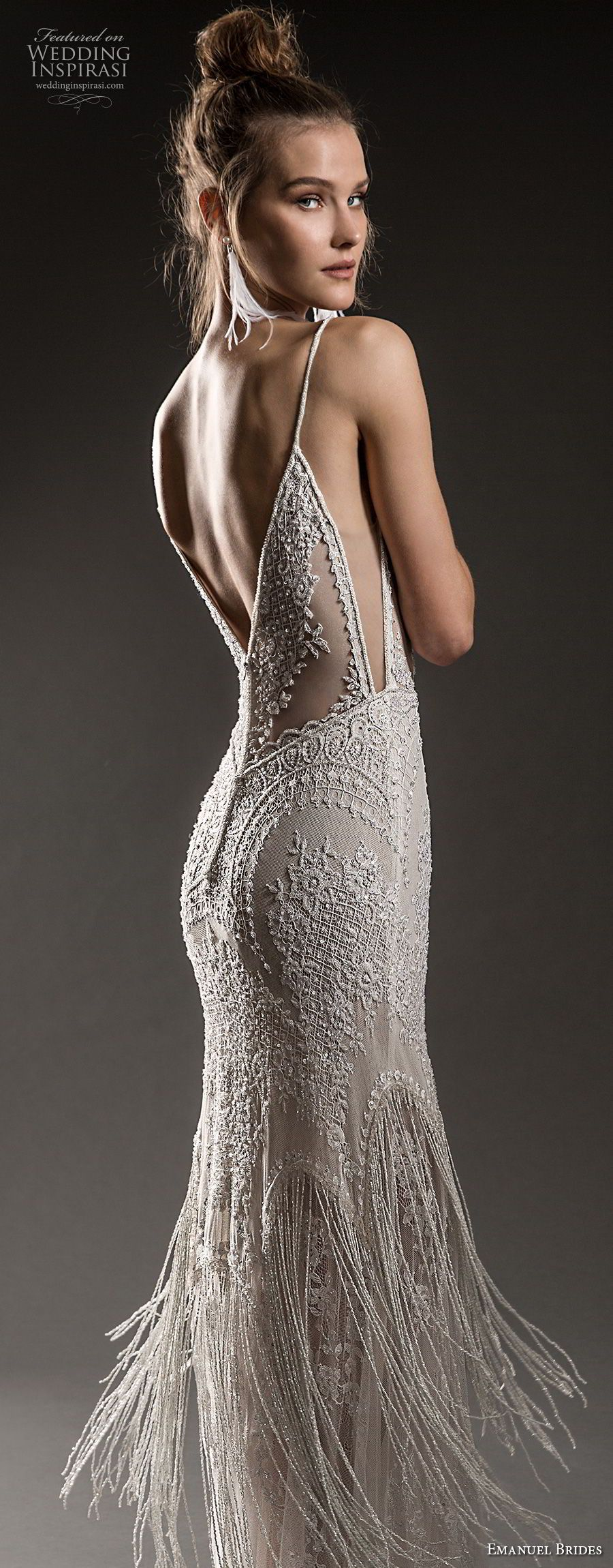 Great gatsby inspired wedding dresses  Emanuel Brides  Wedding Dresses  Great Gatsby Inspired Wedding