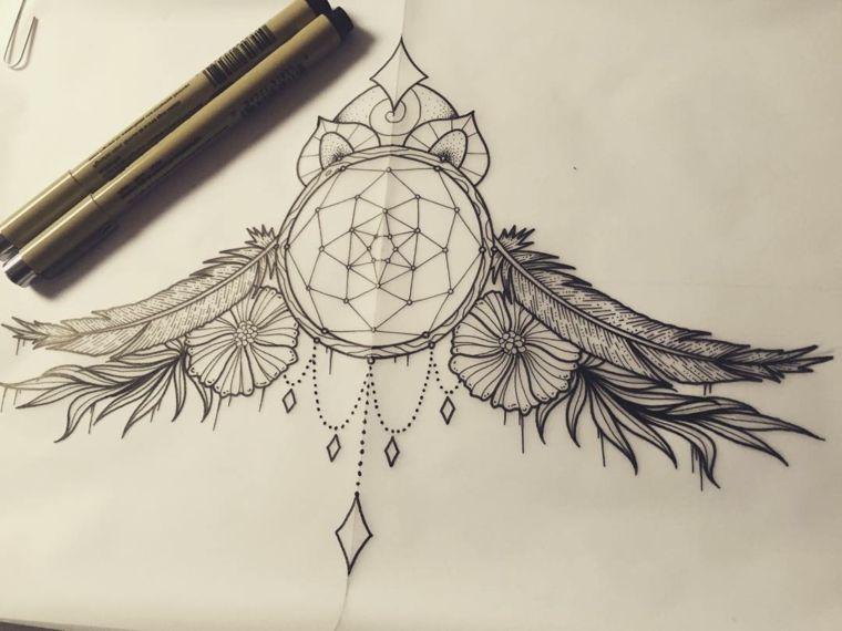 Disegni belli e un 39 idea per un tatuaggio acchiappasogni for Acchiappasogni disegno