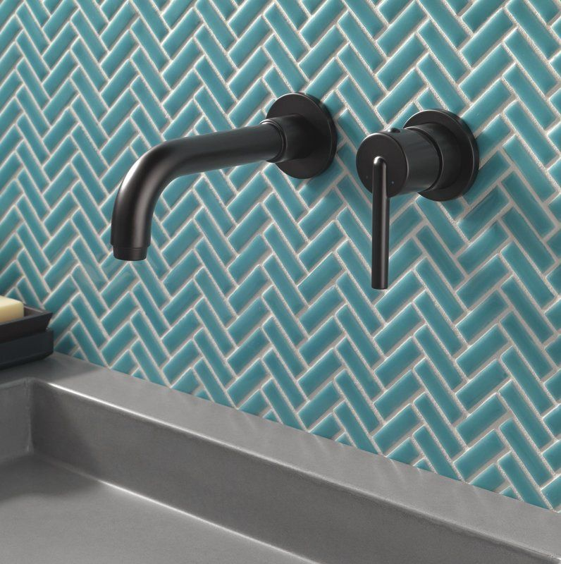 Delta Trinsic Wall Mounted Bathroom Faucet Bathroom Faucets