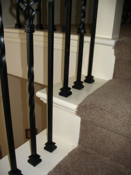 False Tread Cap Staircase Makeover Wood Stairs Staircase Remodel