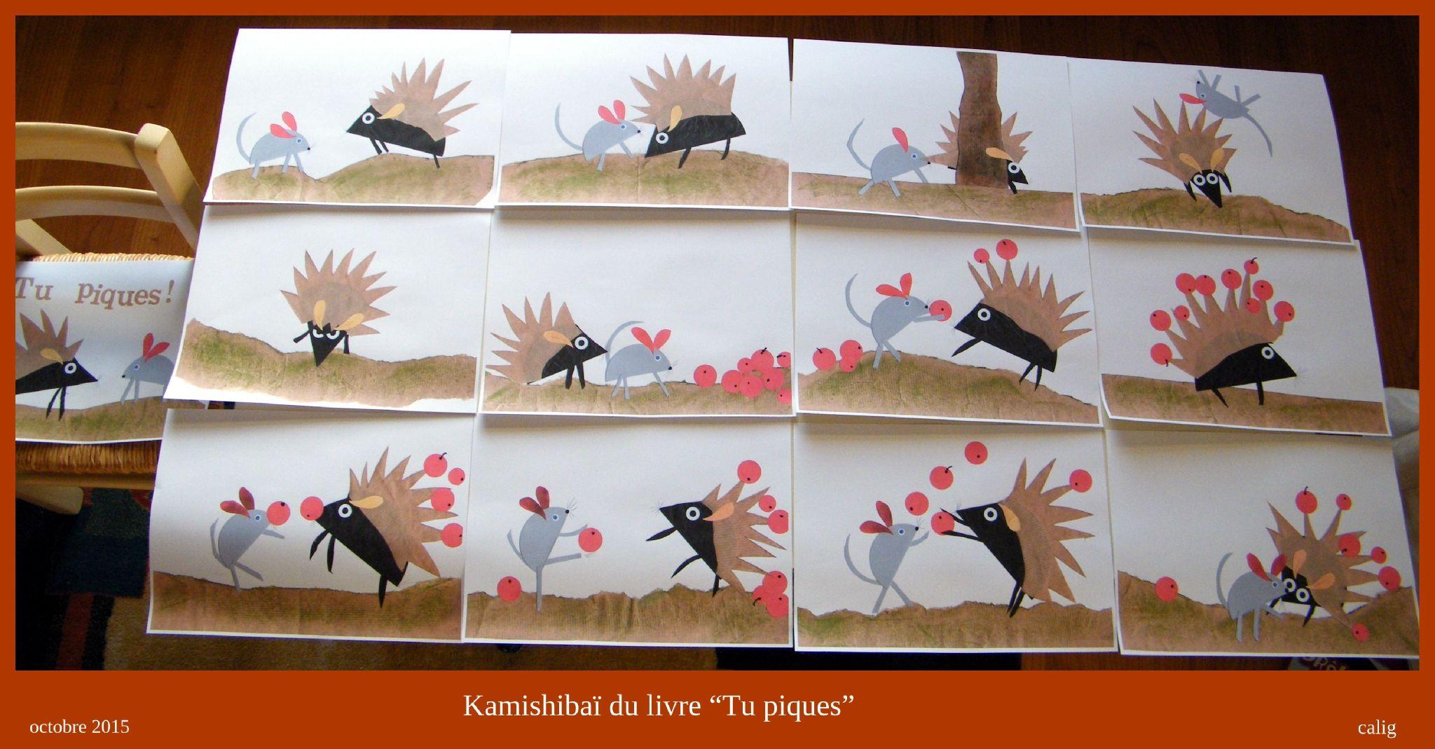 La Semaine Derniere J Ai Fini La Realisation Des Pages Du