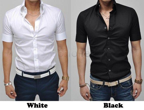 Dress Shirt Fashion Short Sleeve Shirts