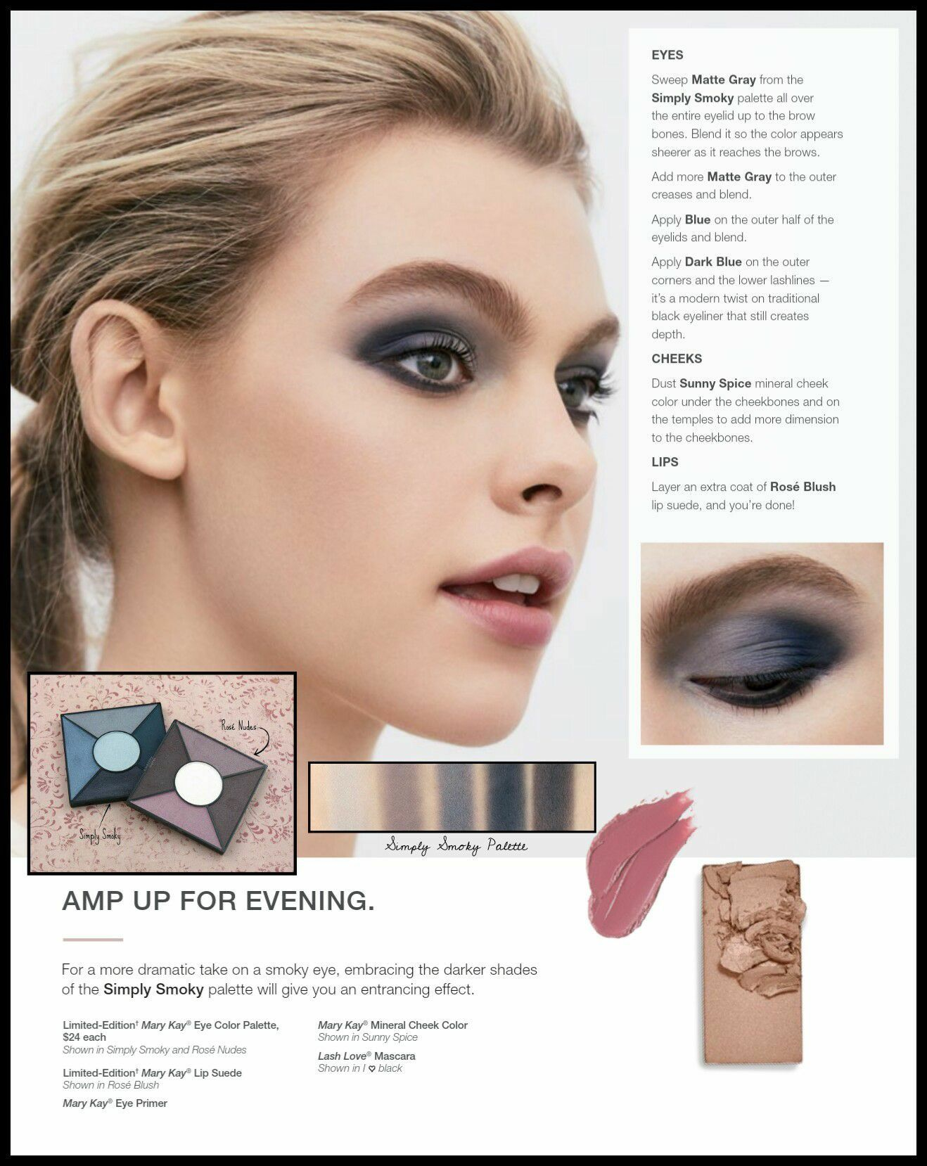 Mary Kay Eye Makeup Application Techniques