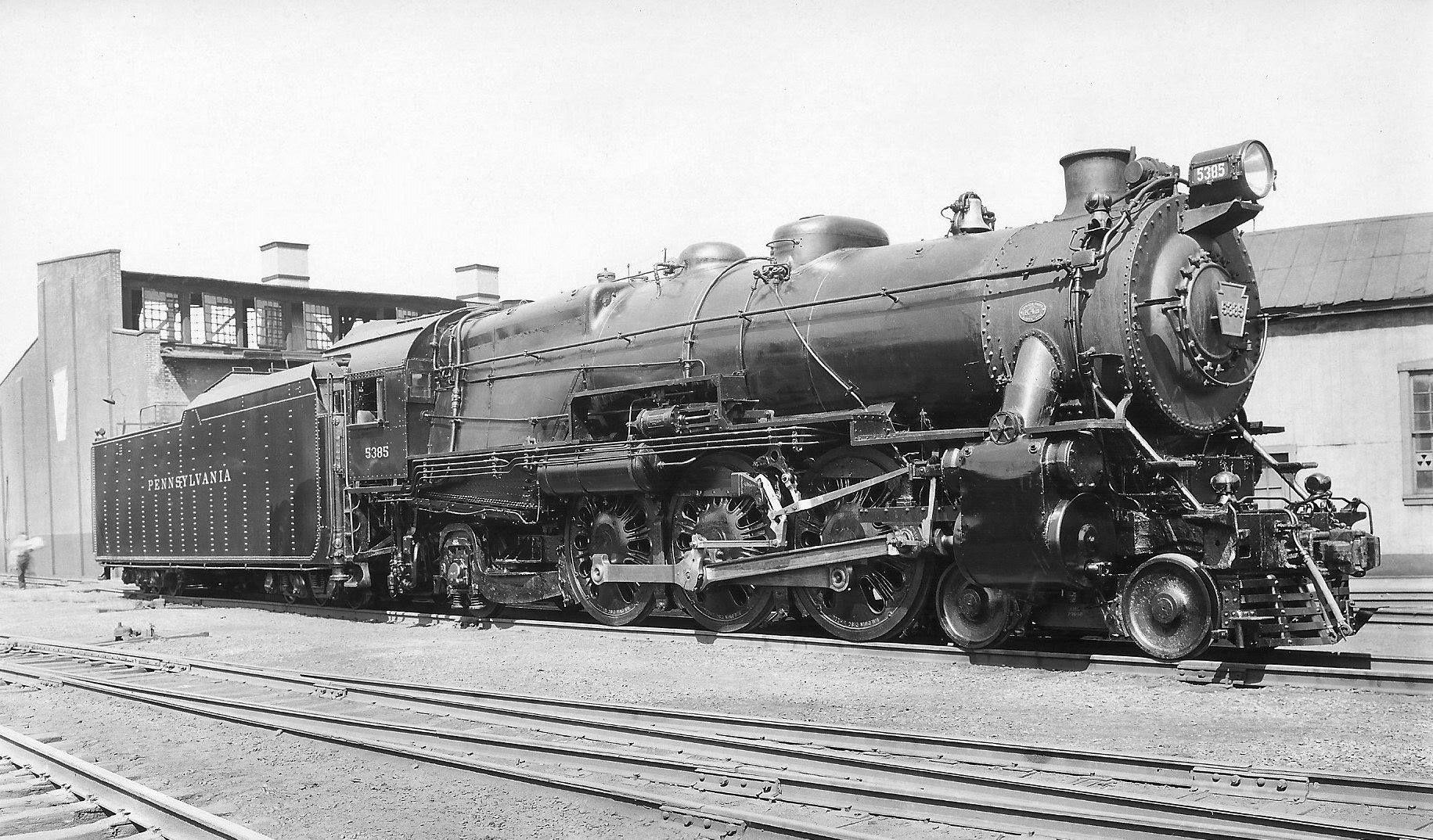 Class K4s )  Pennsylvania R R   4-6-2 Pacific  Built by PRR