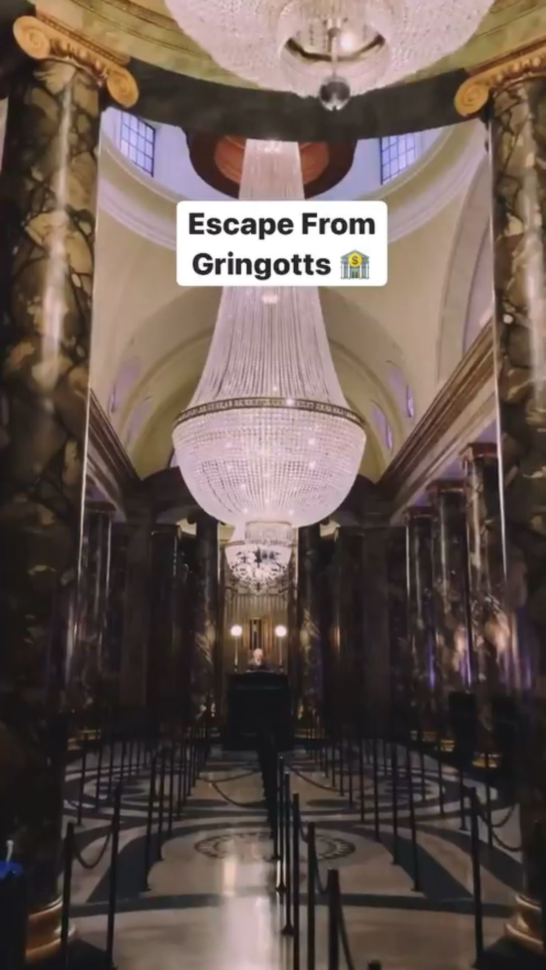 Escape from Gringotts Diagon Alley