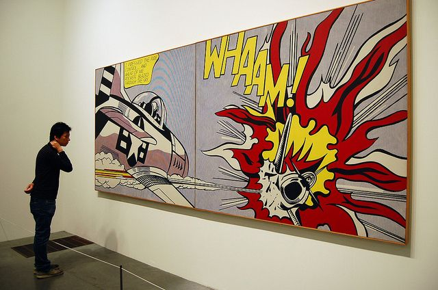 Whaam At Tate Modern Pop Art Andy Warhol Art Art