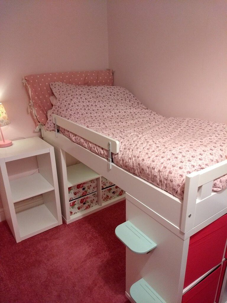 best sneakers 17f51 efa67 KRALLAX - the toddler mid-sleeper bed | P-Nut | Mid sleeper ...