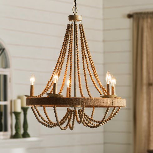 Tremiere 5 Light Candle Style Chandelier Candle Chandelier Farmhouse Chandelier Coastal Chandelier