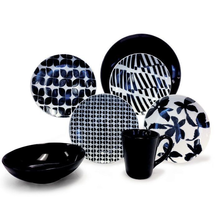 Baum 16 Piece Dinnerware Set & Reviews | Wayfair | Home products ...