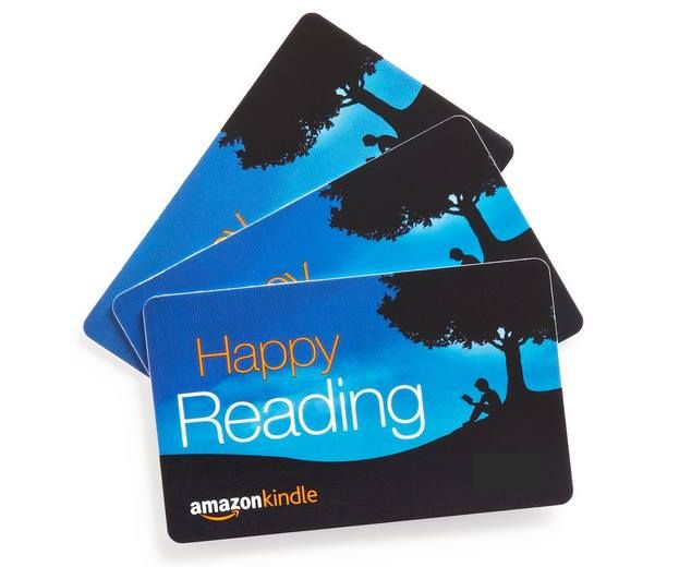 I Read A Lot Using Kindle And Audible Through Amazon Buy Gift Cards Gift Card 25th Gifts