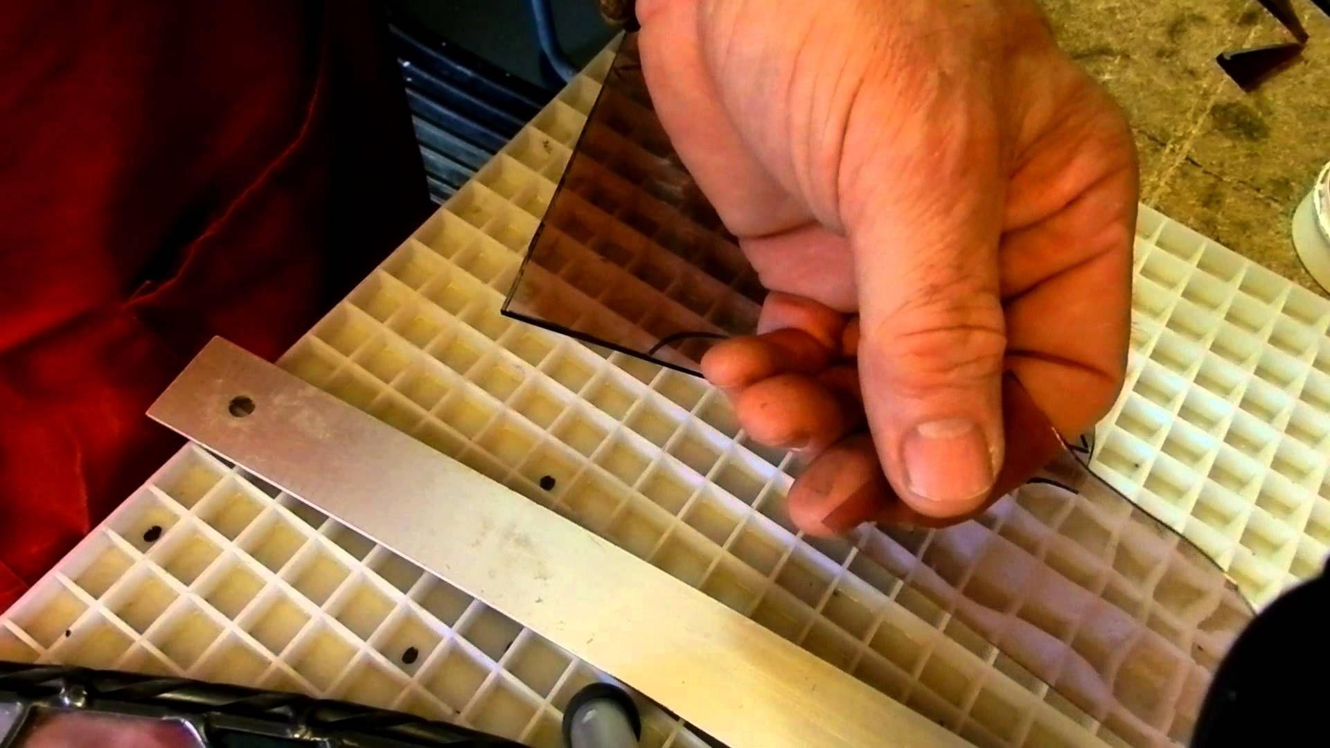 stained glass repair job 1b.MOV #glassrepair