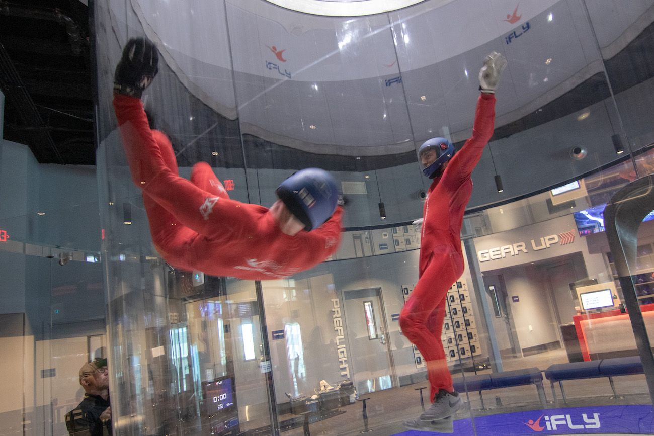 Indoor Skydiving Company Ifly Has Landed At 7840 Lyles Lane N W In Concord And Its Opening Day Is Saturday Indoor Skydiving Skydiving Concord
