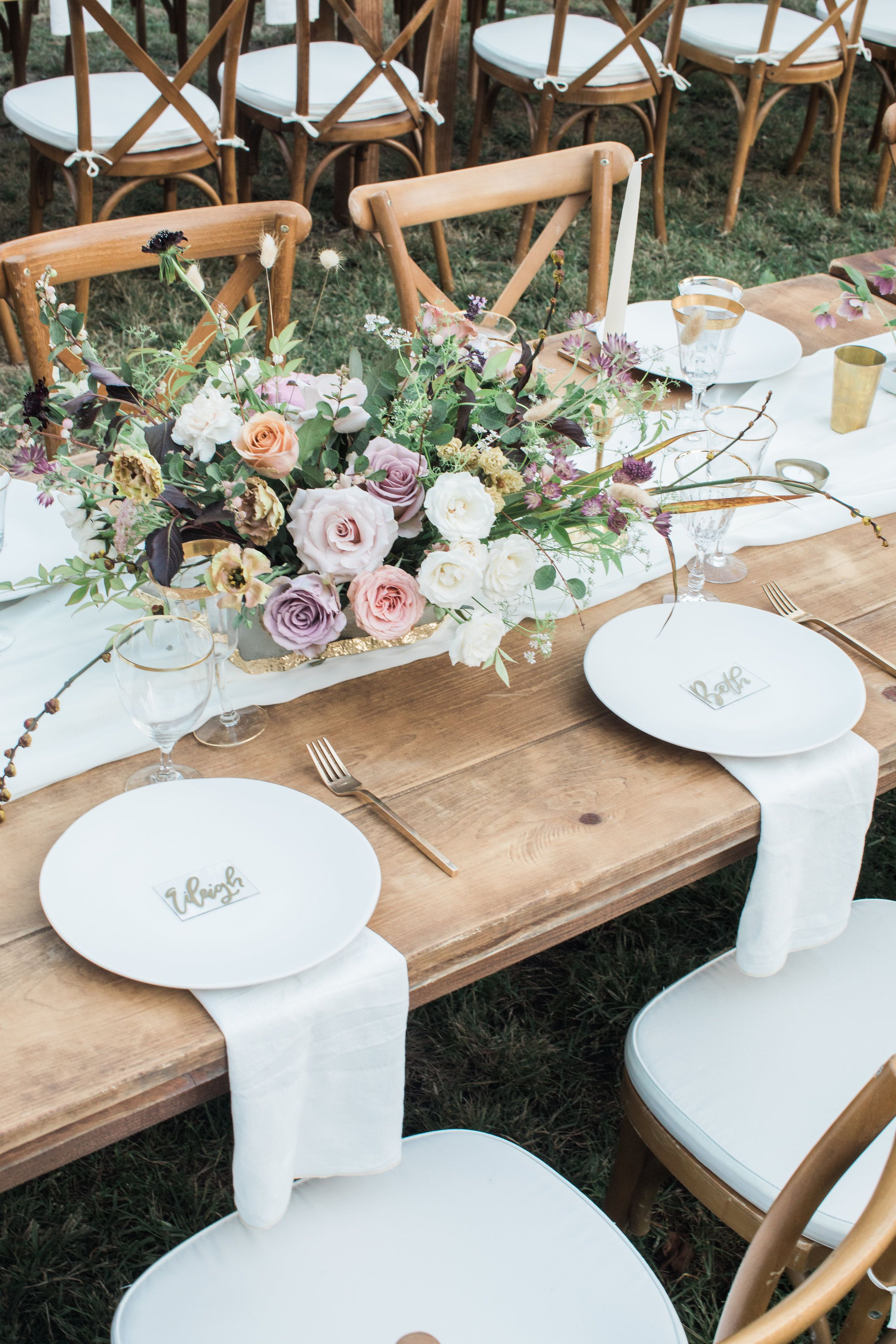 Farm Tables And More San Diego Table Rentals San Diego Wedding Rentals Wedding Table Decorations Wedding Southern California Wedding Reception Decorations