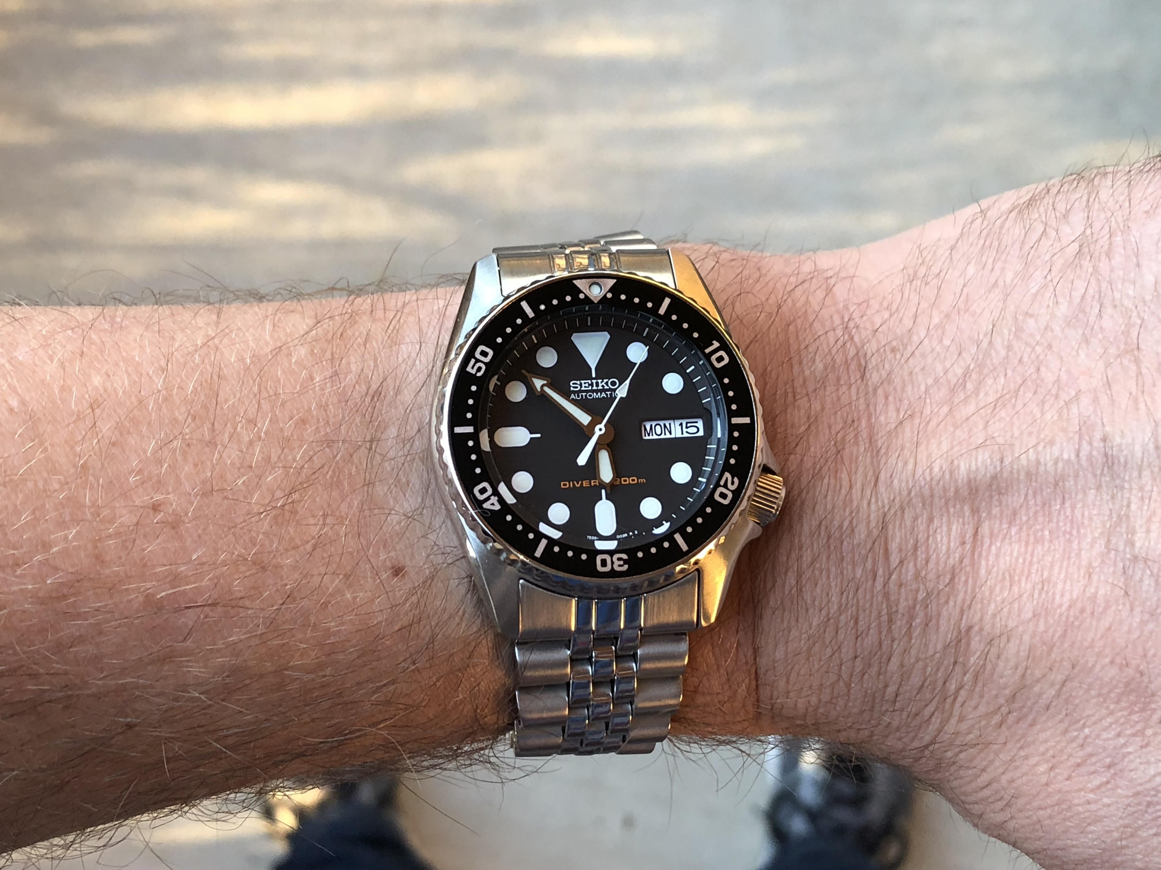 [Seiko] New Watch Day SKX013