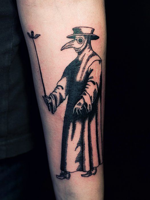 Plague doctor tattoo google search tattoos pinterest for Plague doctor tattoo